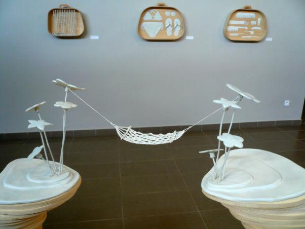 l`art de la sieste hamac porcelaine exposition