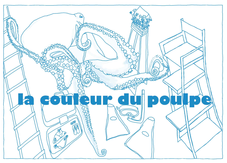 carton invit la couleur du poulpe